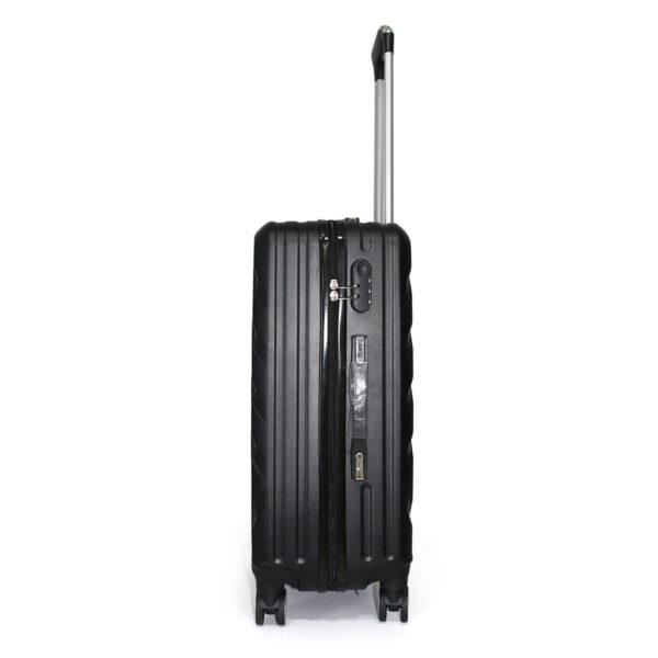 vali nhựa cứng ABS size 24 màu đen