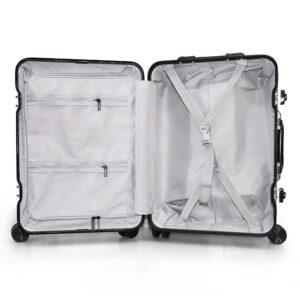 vali khung nhôm RMW01 size 20 màu đen