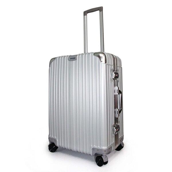 vali khung nhôm RMW01 size 22 màu xám bạc