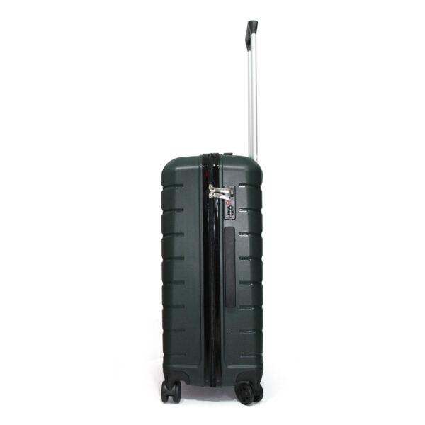 vali nhựa dẻo VL030 size 24 màu xanh rêu