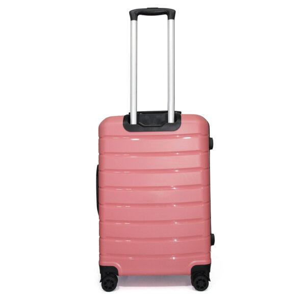 vali nhựa dẻo VL030 size 24 màu hồng