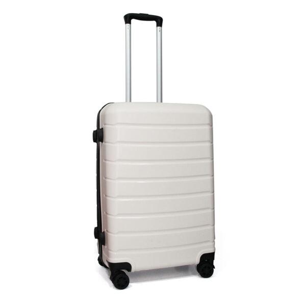 vali nhựa dẻo VL030 size 24 màu trắng