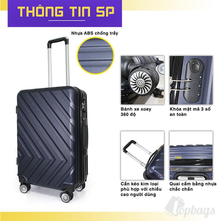 thông tin vali nhựa cứng AB033