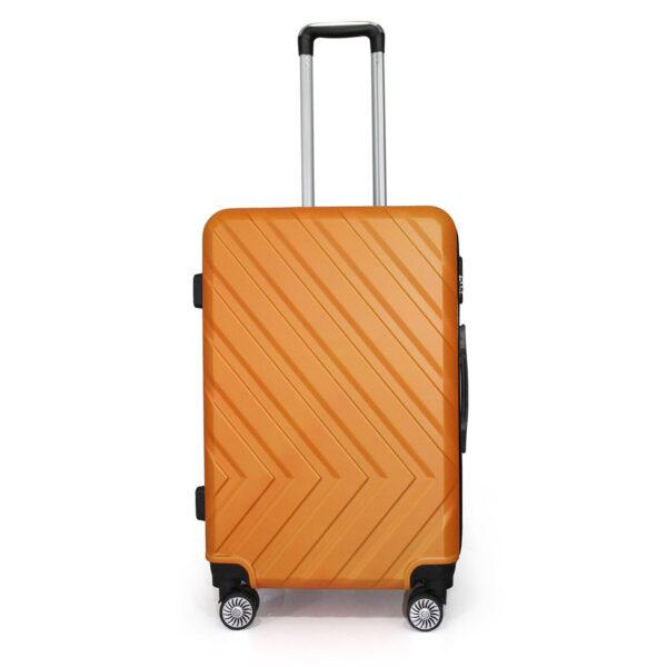 vali nhựa cứng ABS size 24 màu cam