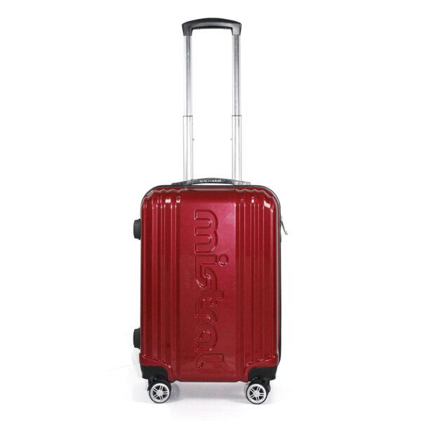 vali nhựa pc vl031 size 20 màu đỏ đô