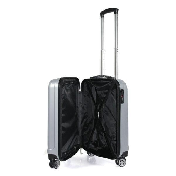 vali nhựa pc vl031 size 20 màu xám bạc