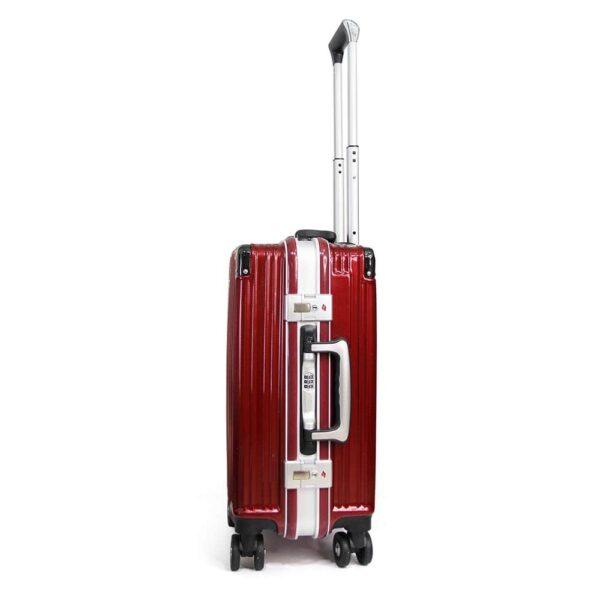 Vali khóa sập KN034 size 20 màu đỏ