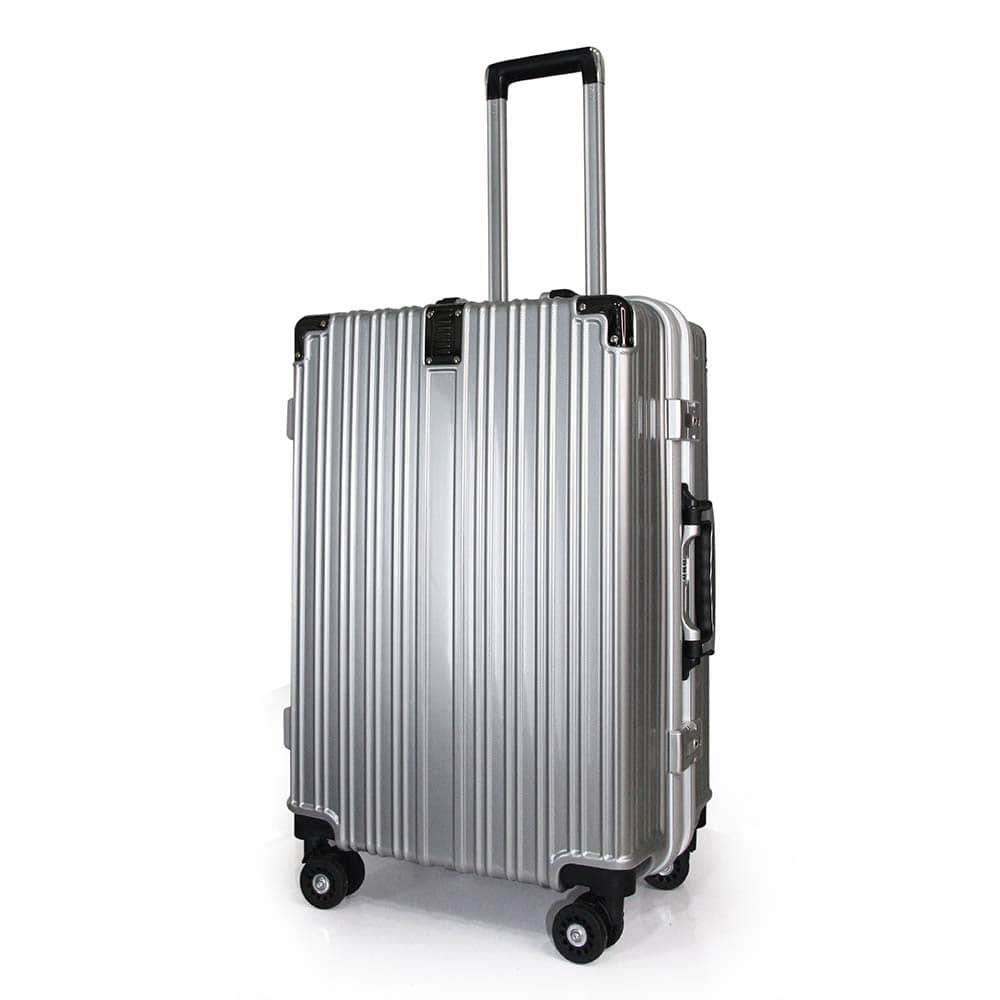 vali khoá sập KN034 size 24 màu xám bạc topbags - 3 kinh nghiệm mua vali du lịch giá tốt