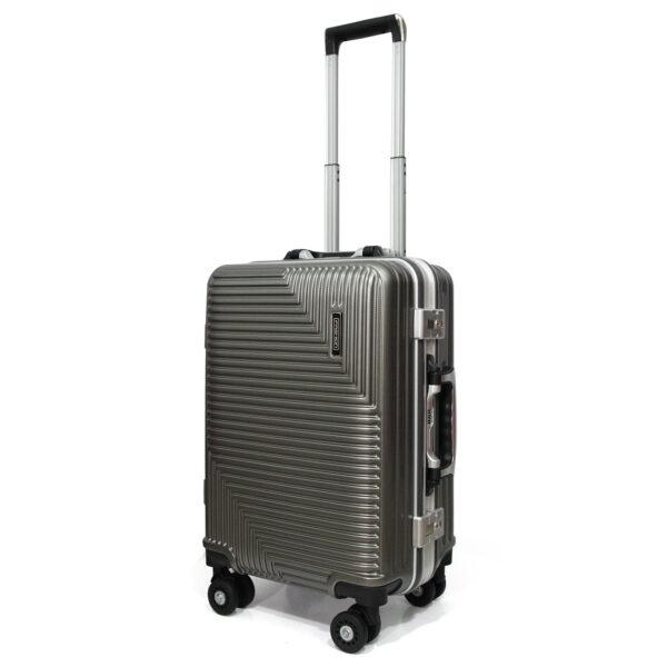 vali khóa sập VL025 size 20 màu xám chì