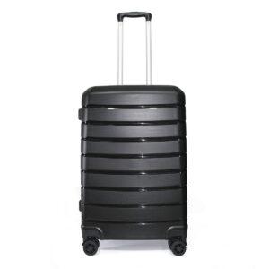 vali nhựa dẻo VL030 size 24 màu đen
