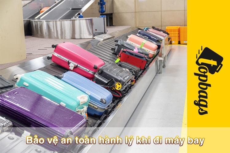 Bảo vệ an toàn hành lý khi đi máy bay-min