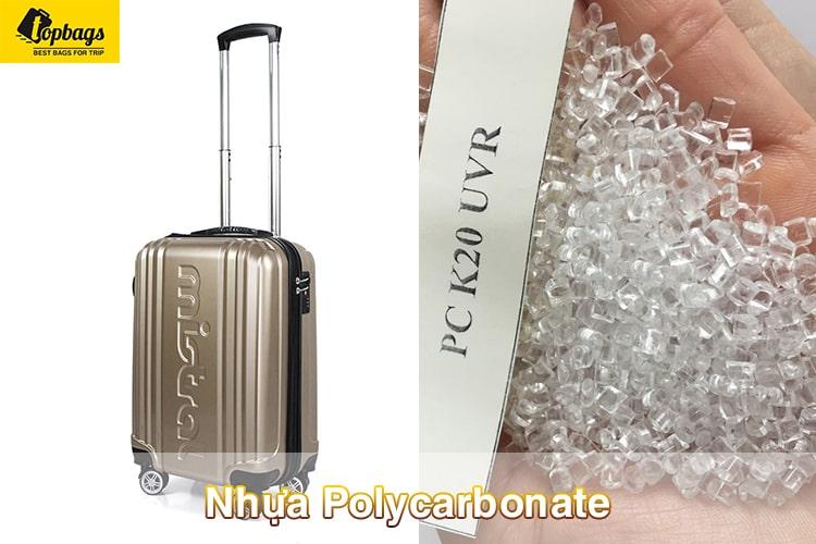 Nhựa PC(Polycarbonate)- TOP các mẫu vali du lịch đẹp