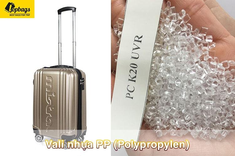 Nhựa PC(Polycarbonate)-mua vali đi máy bay