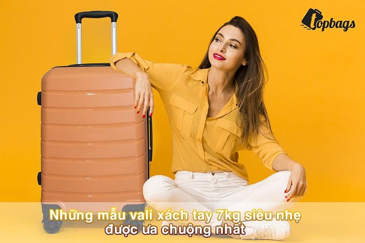 Những mẫu vali xách tay 7kg siêu nhẹ được ưa chuộng nhất
