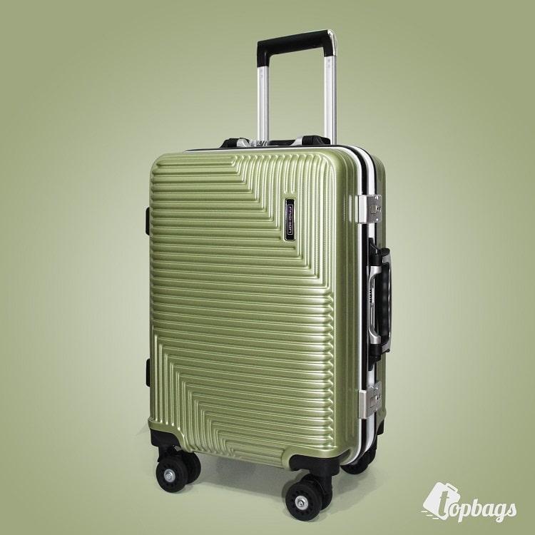 vali khóa sập TSA VL025 size 20 màu xanh rêu