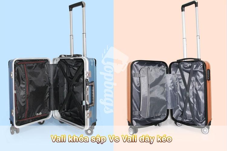 vali khóa sập và vali khung nhôm -1-min