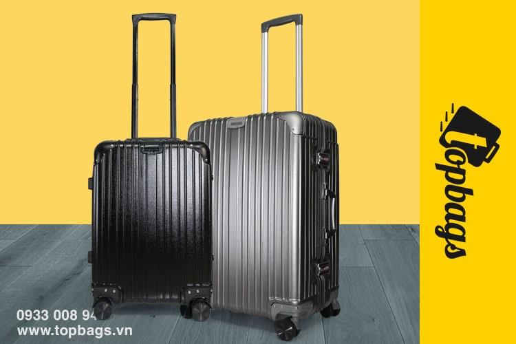 vali khóa sập TSA RMW01 màu xám