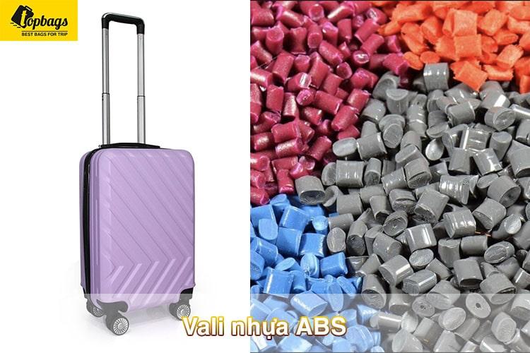 vali nhựa ABS- TOP các mẫu vali du lịch đẹp