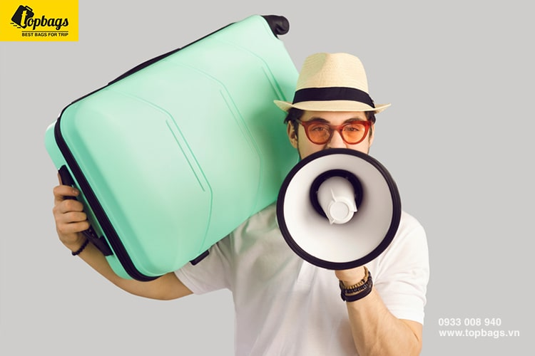 Nơi bán vali uy tín tại TPHCM - chương trình khuyến mại vali tại Topbags-min